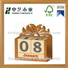 Wooden Gift with Smart Clock & Calender for Corporate Chirstmas Gift