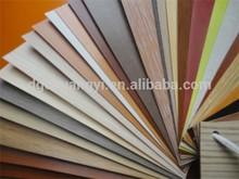 solid wood grain plastic pvc edge banding strip