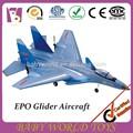 Venta caliente 2.4 ghz 2ch forma rc planeador avión de juguete para los niños/mando a distancia avión/principal producto planeador del rc