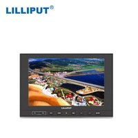 built-in battery small lcd computer monitor with 7 inch screen hdmi input