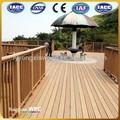 Wpc plancher terrasse extérieure imperméable à l'eau