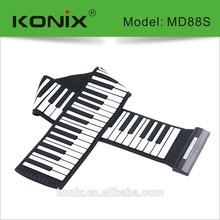 Konix Digital & Portable 88 Keys MIDI Keyboard Piano