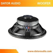 15 inch stage speaker PA woofer PW1522, woofer
