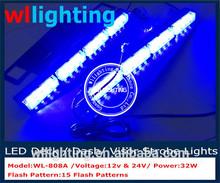 visor led blue light/visor warning light/ car vechile car led light