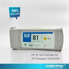 Large Format Original HP 81 Dye ink cartridge--680ml for HP Designjet 5000/5500 printer