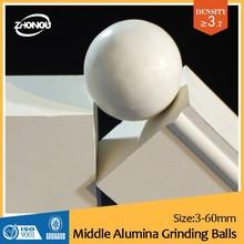 OCD excellent cost performance zircoium silicate alumina beads/china tiles