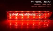 toyotaipsum 20 led reflector parachoques trasero de freno de la cola de parada de luz de niebla