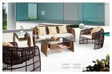 rattan furniture china fashion modeling sofa sets 5pcs