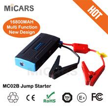 16800 mah auto starter portable multi-function diesel car jump starter