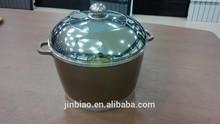 die cast aluminum 24cm ceramic coating stock pot