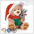 2015 nuevos productos promocionales de la novedad de navidad de la felpa juguete