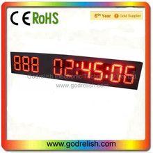 Led contador led temporizador de cuenta regresiva de la batería eléctrica contador de pulso