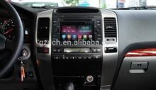 Quad Core android 4.4.2 car dvd player 1.6GHz for toyota prado Land Cruiser 120 (2G + 16GB 1024*600 Optional) WS-9126