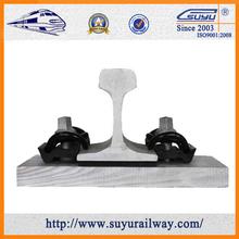 Rail fastening system market share