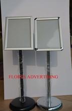 adjustable A4 hot sell aluminum snap bulletin holder