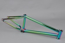 Chromoly4130 Butted oil slick frame titan bicycle frame