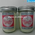 Net sıcak satış boş 8oz cam gıda depolama kavanoz/bal kavanoz/cam reçel kavanozu