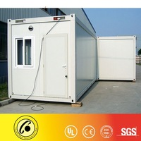 Flat pack modular office container