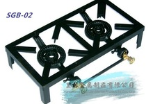 cast iron hot selling 2 burners gas stove SGB-02