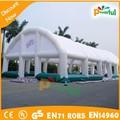 Eventos ao ar livre gigante quadra de tênis tenda, Inflável quadra de tênis