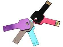 corlorful design metal key usb,32gb 64gb 128gb full capacity usb2.0