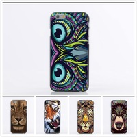 New Design Cool Tiger Head Case For Samsung Galaxy I9600 S5 Fashion Cover High Quality Soft TPU Back For Galaxy S5