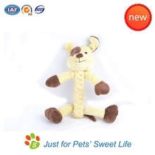 2015 Wholesale High Quality New Design Lucky Floppy Plush Dog Toys
