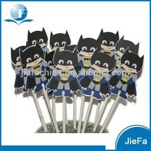 Fashion Boy's Party Batman Cupcake Toppers
