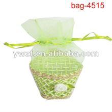 wedding organza candy gift bag