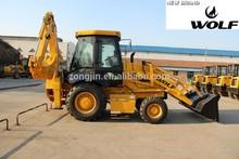 WOLF Backhoe loader JX45 case 580 backhoe loader