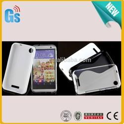 Bulk Stock Cheap S Line Shape TPU Cover Case For HTC Desire 320 D320