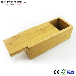 2015 custom wooden sunglasses case for promotion