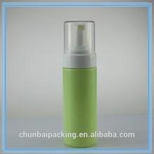 FDA hand soap pump, black foaming bottle 150ml, PE/PET