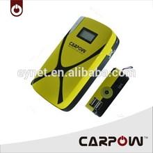 Car battery jump starter CARPOW universal power bank high quality starter kit