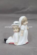 High porcelain back to back wedding gifts YLDH14015-06