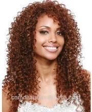 China manufacturer wholesale good quality OEM heat resistant kanekalon fiber hair synthetic wig