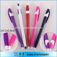 good quality thin barrel retractable plastic pen