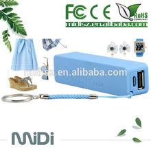 Hot sale mini usb 2600mah portable Power Bank for laptop mobile phones best quality external battery charger