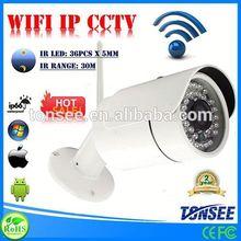 WIFI IP CCTV, Plug and Play Pan tilt network IP camera ,rotary potentiometer 10k with ip67 waterproof