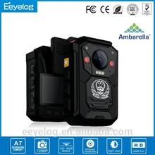 2015 New Police Body Worn Camera Full HD 1080 Video Support Ambarella A7 Chip