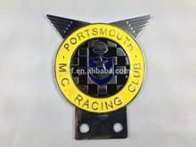 badges zinc alloy metal custom car emblem manufacturer
