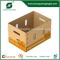 Une bonne demande prix d'usine en gros de fruits et légumes boîte d'emballage