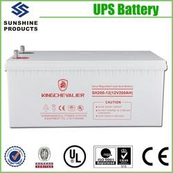 Maintenance-Free Lead Acid Storage Storage Solar Rechargeable Battery
