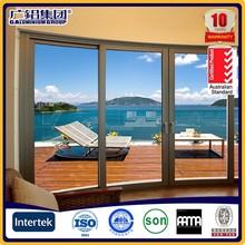 Fashionable cheap aluminum double hung window