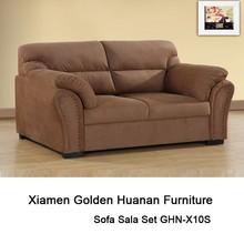 Brown fabric sofa sala set