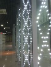 Fashion LED Glass Wall Design