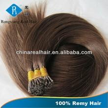 Cheap Double Drawn Hair 100% Human Remy Keratin I Tip Hair Extension