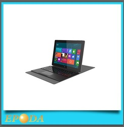 high quality brand new tablet laptop 10 inch windows 8 Intel tablet pc laptop with detachable keyboard