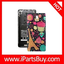 Cat Pattern Back Cover Replacement for Xiaomi MI4 china mobile phone spare parts