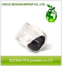 EDDHA Fe 6% Iron Powder o-o: 3.0 Chelate Fertilizer